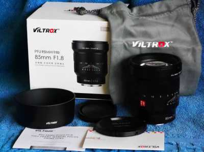 VILTROX 85mm f1.8 for Sony FE Full Frame Portrait Prime lens in Box