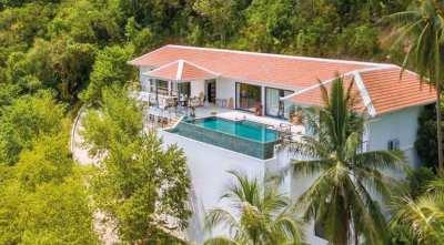For sale 5 bedroom sea view villa in Bang Por Koh Samui