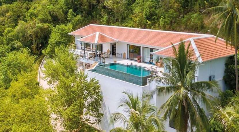 For sale 5 bedroom sea view villa in Bang Por Koh Samui