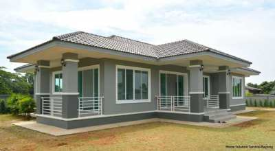 Very attractive 3 bedroom house close to Mae Ramphueng beach!