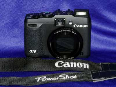 Canon PowerShot G16 Digital Wi-Fi Camera f/1.8-2.8
