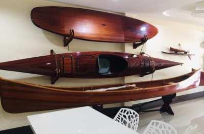 Beautiful cedar strip canoe for sale