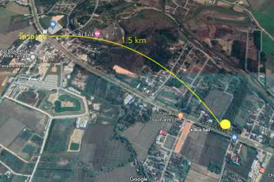 14-1-75 Rai of Land near White Temple for Sale