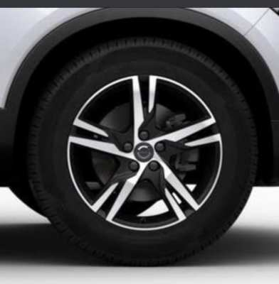 Volvo 2020 19 inch wheels and Pirelli tyres