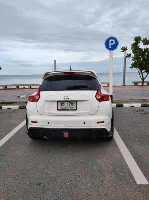 ขาย Nissan Juke 1.6V ตัวTop ปี 2014 สีขาว