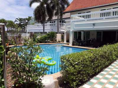 Two story house for Sale with Private Pool 113 sq.wah, 3 bedrooms.