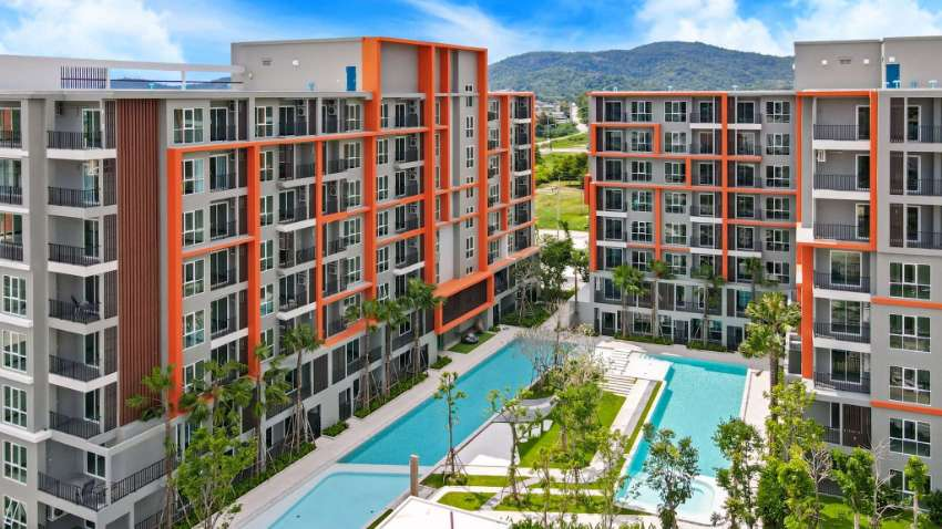 New Condo in a prime location in Hua Hin town Ready to Move in