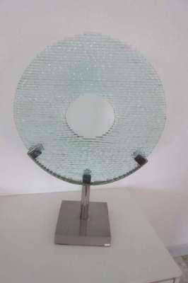 Glass Art Object 70cm high