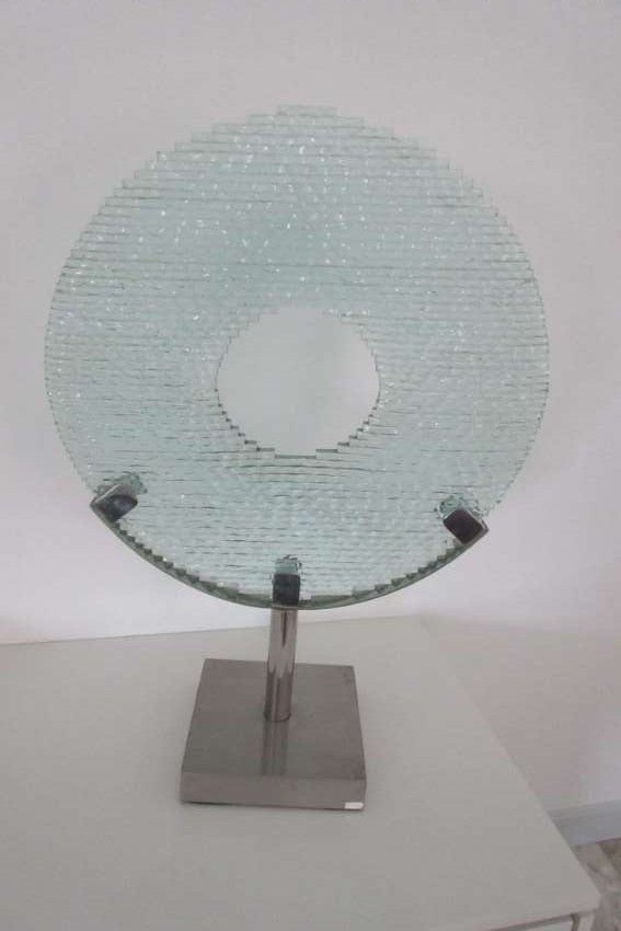 Glass Art Object 70cm high
