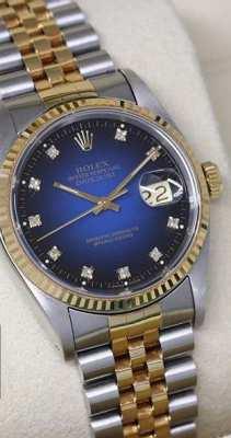 ROLEX Blue Diamond 1996 Vintage (36 mm unisex)
