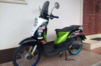 YAMAHA Fino modified