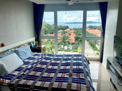 Excellent sea-view, 2 bed 2 bath in Pratumnak.