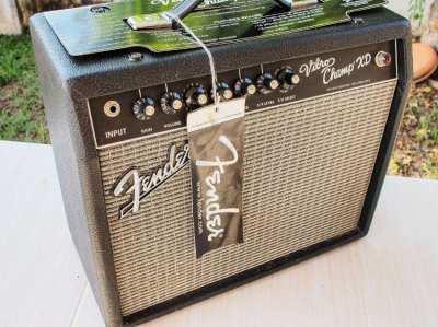 Fender Vibro Champ XD amplifier all tube