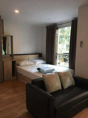 For Rent LPN Bangna KM3 TowerA FL2 nice interior EAST wing green view