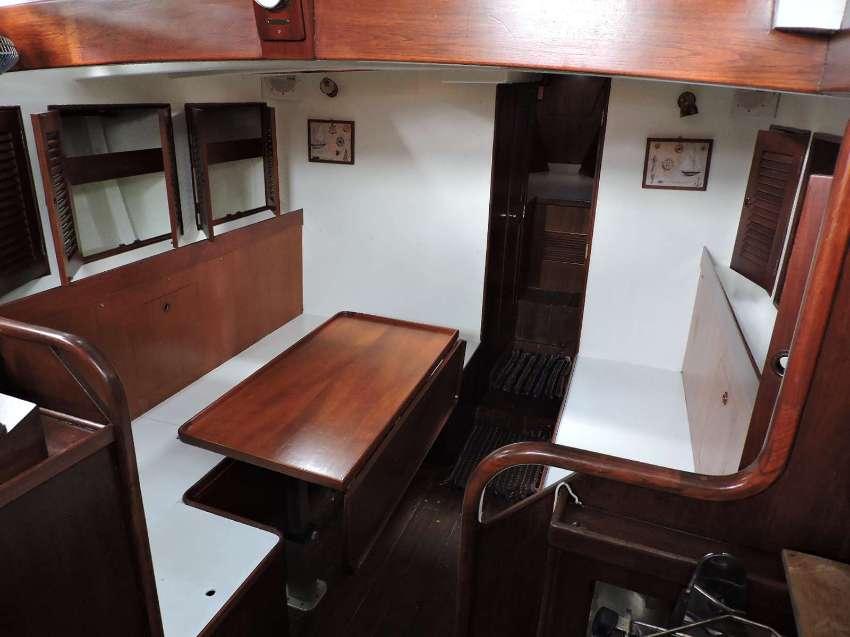 Classic Wooden Sailing Boat