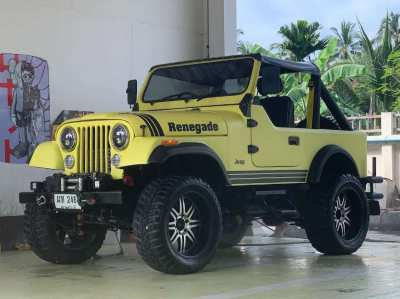 Jeep cj7 restored