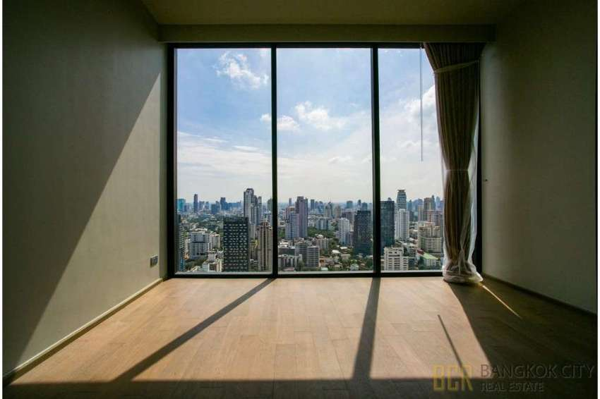 Celes Asoke Ultra Luxury Condo Very High Floor 3 Bedroom Unit for Rent