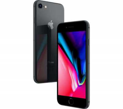 iPhone 8 (2018) Black 64GB - One owner, unlocked, excellent condition!