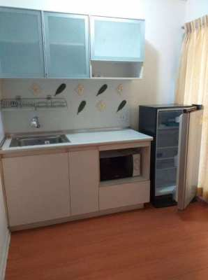 LPN Bodin Ramkamhang TowerD3 FL7 East Wing Nice Kitchen 1Bed 7000THB/m