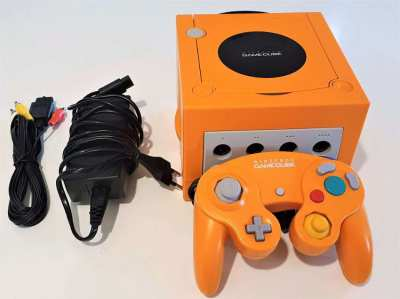 Rare Nintendo Gamecube Orange Spice