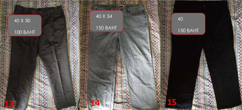 Mens Trousers - New, Lightly Used & Used - Larger Sizes 34,35,36,38 an