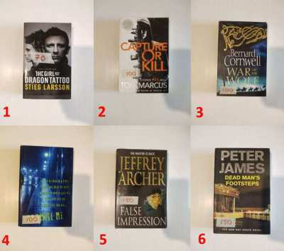 Fiction and Non Fiction Books – Many Subjects