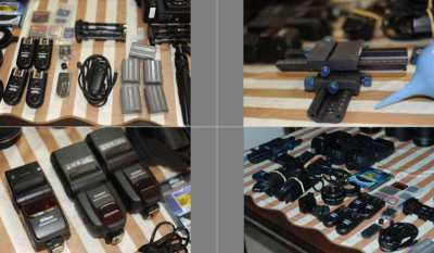 professional nikon photo equipment like new for sale almost for free..
