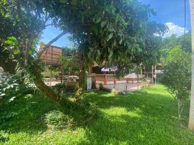 ์Nice house with beautiful view and good atmosphere, green nature area