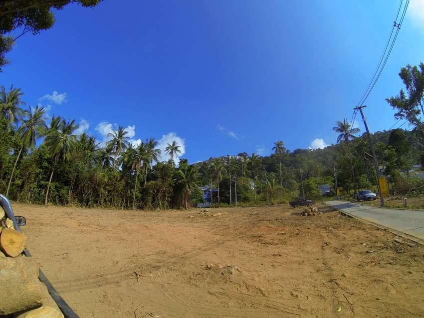 beautiful sea view land* 600 m to beach* easy access* Samui Bang Por