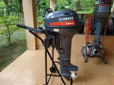 Yamaha Enduro 15hp 2str Long shaft , almost New , for sale.