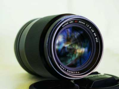 Fuji Fujinon XF 90mm F/2 R LM WR (Weather Resistant) Lens