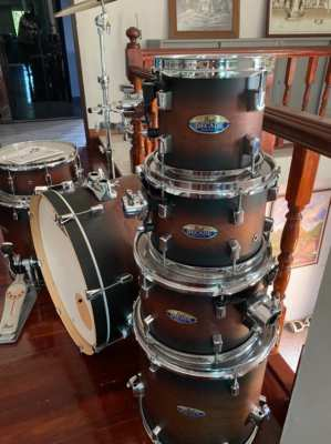 PEARL Decade Maple -  7 piece drum kit