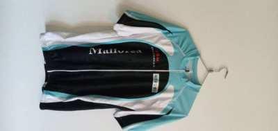 Road bike clothing.