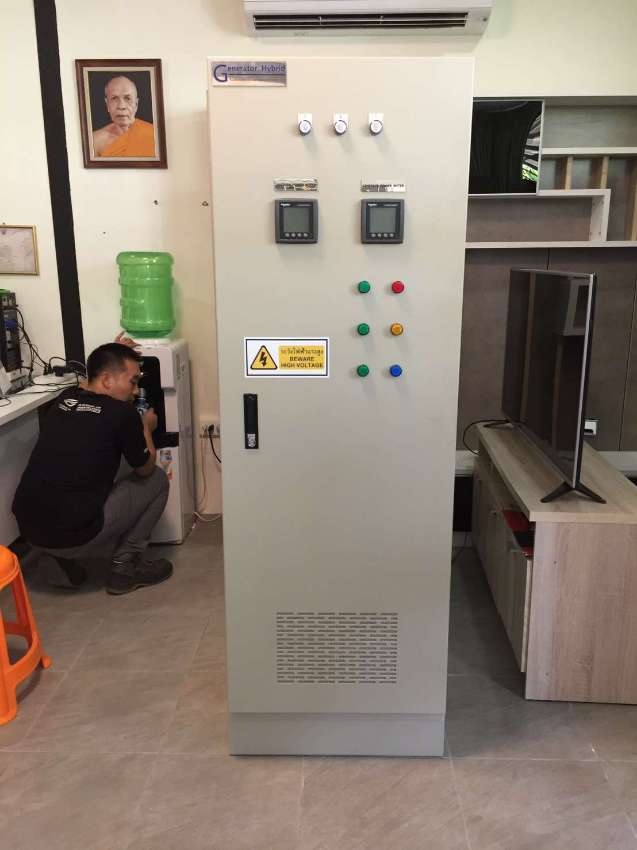 Energy saving innovation  by Generator Hybrid