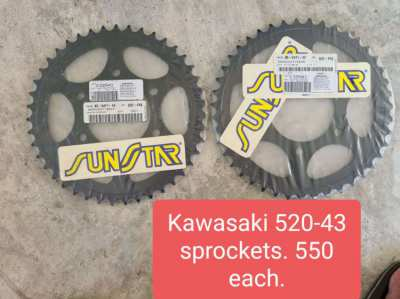 Kawasaki 650 parts. All new.