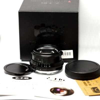 7artisans 35mm f1.2 Prime Manual Fixed Lens in Box (Sony, Fuji)