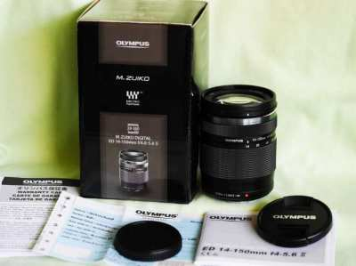 New in Box Olympus M.Zuiko Digital ED 14-150mm F4-5.6 II Lens