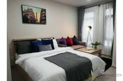 Aspire Asoke Ratchada Luxury Condo Huge Discount Brand New Studio Unit