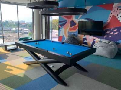 Outdoor / Indoor Real Pool Table X - YOU choose the color