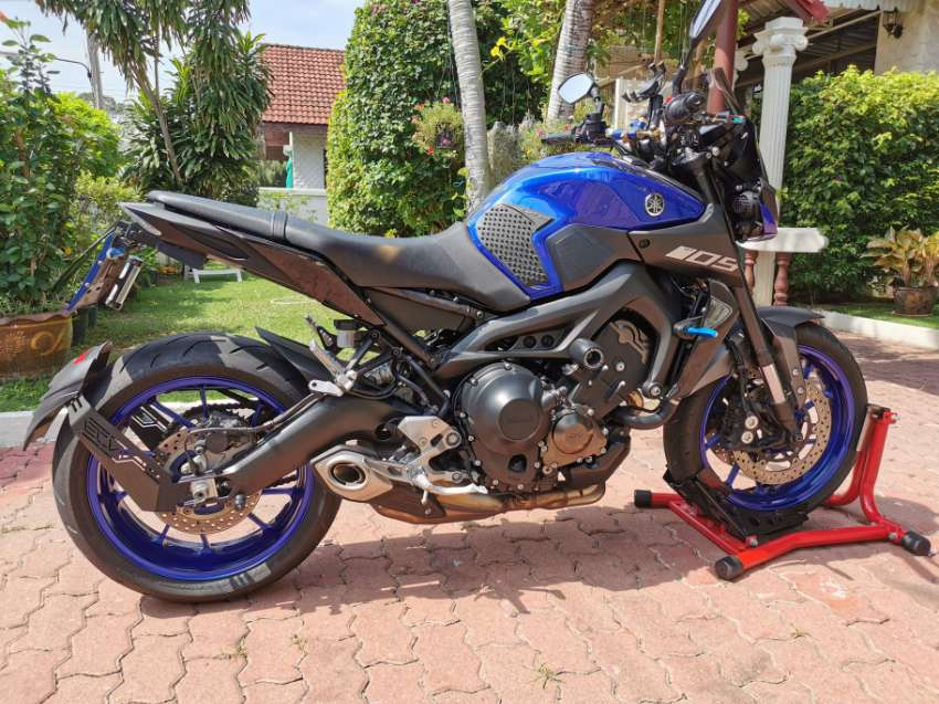 YAMAHA MT-09, 2018/2561 (OCTOBER), 7650 KM FOR SALE.