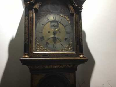 Antique Grandfather clock London maker from1740 complete restoration s