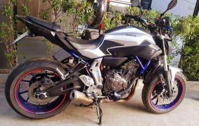Yamaha MT-07   2016   31***kms