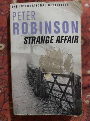 Peter Robinson - A Strange Affair; Inspector Alan Banks