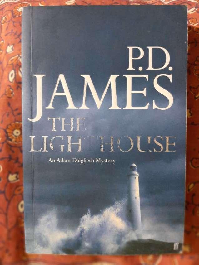 P.D. James - The Lighthouse; Commander Adam Dalgleish