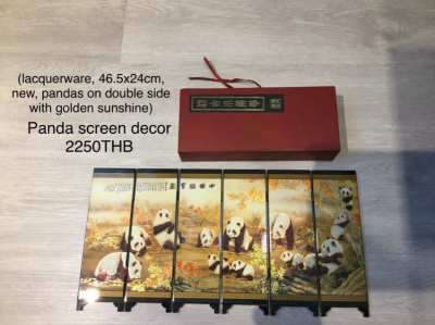 7 pieces home decor (b) and miscellanies (price reduced)