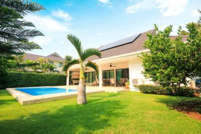 Great Quality 3 Bed Pool Villa