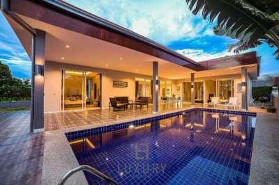 HOLIDAY HOME: Modern 3 Bedroom Pool Villa In Resort!