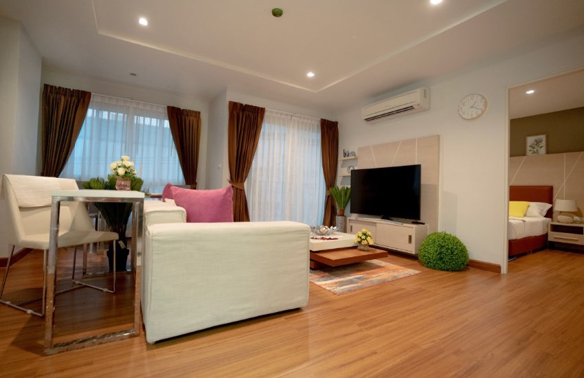 luxury Apartments For Rent 60 sq.m only 10.000 Baht