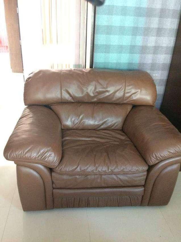 Leather sofa 2 seat