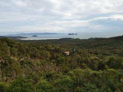 1 RAI OF LAND IN SRITHANU ON KOH PHANGAN FOR SALE